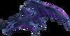 Black stone dragon