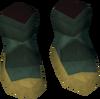 Celestial shoes detail