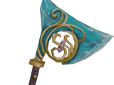 Crystal hatchet