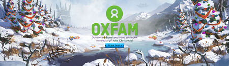 Donate to Oxfam head banner