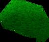 Green afro detail