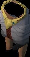 Pharaoh's shendyt (yellow, female) detail