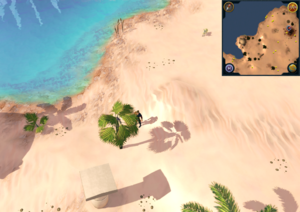 Compass clue north-western desert south-west of Kalphite Hive