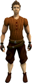Corrupt rogue gloves equipped