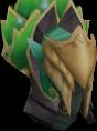 Elven mage helmet chathead