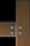Mahogany catapult part (7) detail