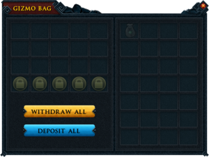 Medium gizmo bag interface