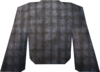Robe top (grey) detail