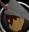 Robin Hood hat (white) chathead