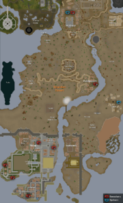 Safecracking Desert map