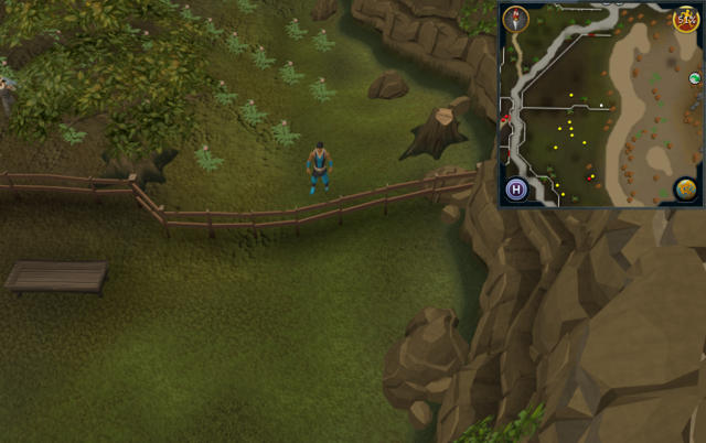 File:Compass clue Lumbridge in potato field west of northern entrance to Al Kharid mining site.png