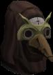Máscara de gás cabeça