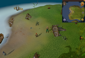Sandy Clue Scroll Crash Island Waydar