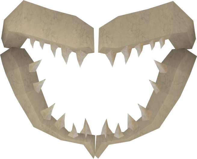 Shark jawbone runescape wiki fandom powered by wikia