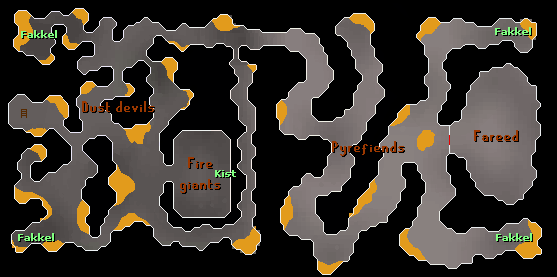 Smoke-dungeon