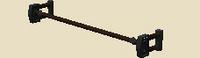 Solid banner frame