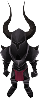 Tiny Black Knight pet