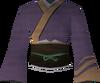 Eastern kimono (purple) detail