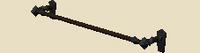 Engraved banner frame