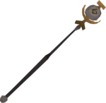 Mind talisman staff detail