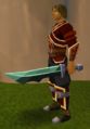 Off-hand adamant ceremonial sword V equipped.png