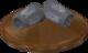 Reinald's Smithing Emporium Silver armguards stand