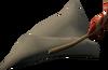Robin Hood hat (white) detail