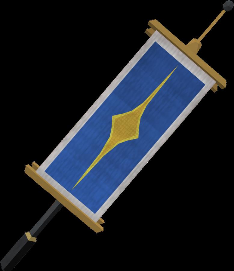 Saradomin Flag Runescape Wiki Fandom Powered By Wikia