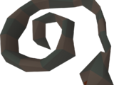 Snake corpse