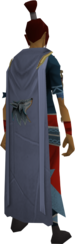 Summoning cape equipped