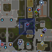 Varrock Sewers entrance location