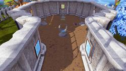 Arena de Treinamento dos Magos salão