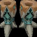 Basilisk boots detail