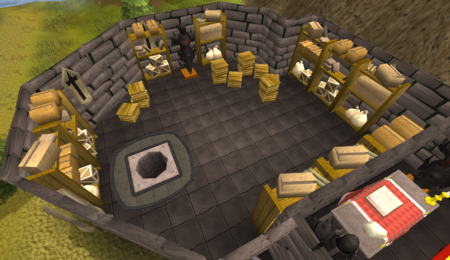 Black Knights' Fortress storeroom