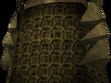Bronze plateskirt
