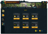 Community (Gielinorian Giving) interface 2