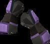 Miner gauntlets (mithril) detail