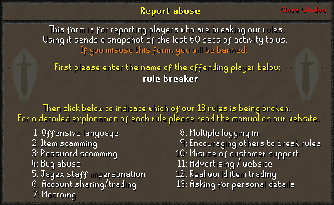 Report Abuse old