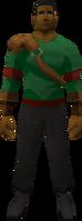 Retro swordarm sash
