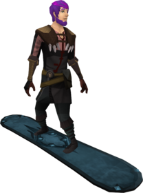 Snowboard (tier 5) equipped