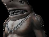 Burnt shark outfit