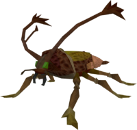 Cockroach soldier