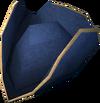 Colonist's hat (blue) detail