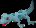 Gecko (blue) pet