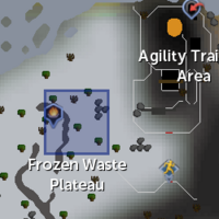 Ice Plateau Teleport location