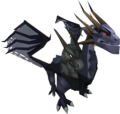 King Black Dragonling pet.png