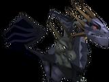 Dragãozinho Negro Rei