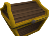 Mahogany prize chest