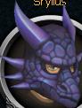 Mithril dragon mask chathead