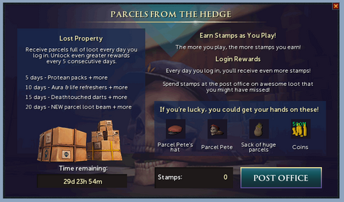 Parcels from the Hedge (March 2019) update image 1